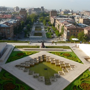 Yerevan city Landscape in Armenia_1600x1200