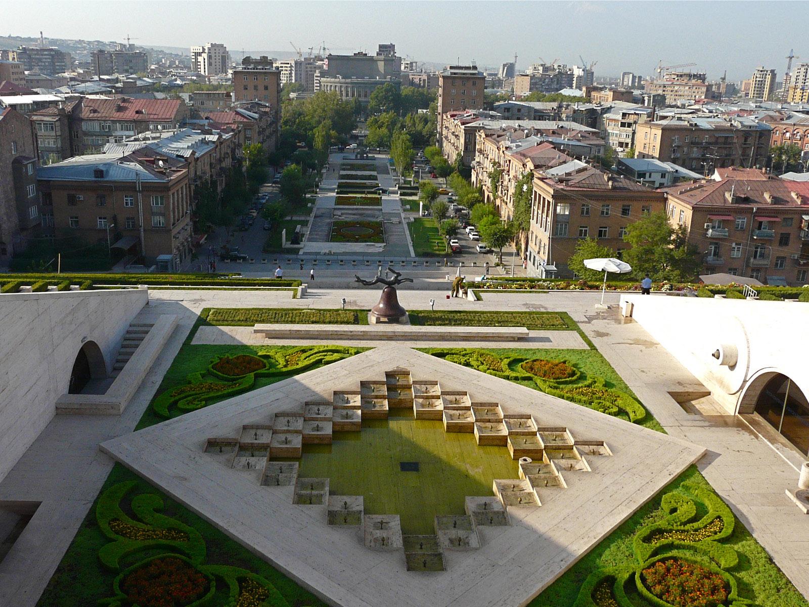 Yerevan city Landscape in Armenia_1600x1200